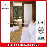 Portas de madeira compostas de madeira interiores do projeto de madeira