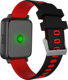 Bracelet intelligent avec le moniteur du rythme cardiaque et l'écran couleur