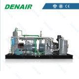 Compressore d'aria senza olio del pistone per la macchina di modellatura del colpo dell'animale domestico