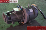 Pièces monopièce magnétiques permanentes d'extrémité d'air de compresseur d'air de fréquence