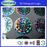 членский билет VIP логоса Hologram 3D (CR80)