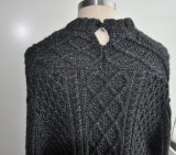 Frauen Winter Cardigan Knitwear mit Button