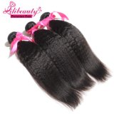 Unprocessed Virgin Peruvain Kinky Straight Weft 100% Cheveux humains