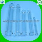 Glasreagenzgläser mit Korken-Stoppern mit Korken mit Überwurfmuttern