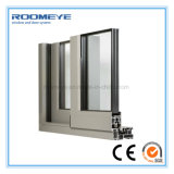 Aluminio Windows de desplazamiento de Roomeye China con precio en fábrica