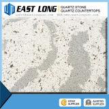 Pierre de quartz de veine/matériau construction de marbre blancs bon marché de quartz