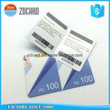 Cartões pagados antecipadamente PVC bonitos do risco da lotaria do projeto