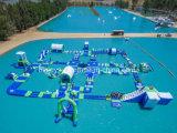 Гигантская раздувная спортивная площадка парка воды для сбывания