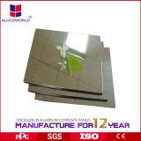 El panel compuesto del espejo de aluminio de Alucoworld (ALK-C0891)