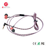 ワイヤーが付いているヘッドホーンの金属の箱のイヤホーンを取り消す騒音