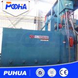 H Beep Roller Conveyor Wheel Shot Blasting Machine