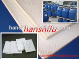Plateau de gypse Colle de PVC Aluminium