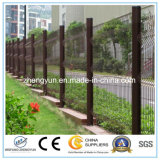 Гальванизированная загородка сада ячеистой сети металла сваренная загородкой