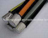 Hv Service Entrance/Drop Cable ASTM Standard 1000V Duplex Triplex Quadruplex LV