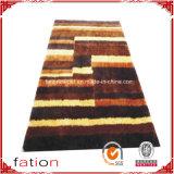多重カラー方法シャギーなカーペットの居間の長方形領域敷物