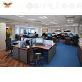 유행 표준 크기 4 시트 사무실 벤치 사무실 워크 스테이션