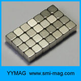 Imán cubierto níquel neo del bloque del neodimio del cubo 5X5X5m m de la alta calidad