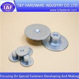 Rondelle plate spéciale de chapeau de rondelle d'acier à faible teneur en carbone