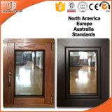 중국 공급자에게서 나무로 되는 Windows, Cutomized 유리제 나무로 되는 Windows, 단단한 나무 여닫이 창 Windows