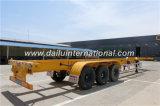 3-Axle 40FT Behälter-Transport-Sattelschlepper-Skelett-halb Schlussteil