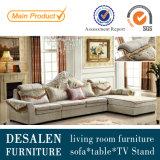 Nuevo sofá clásico 2162A de la tela de la sala de estar de la alta calidad