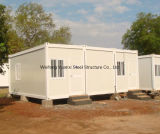 L'Angola Project Prefabricated 20ft Container House