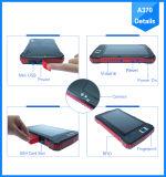 7 tabuleta Android PDA da polegada 4G com o varredor do código de barras do leitor da impressão digital RFID