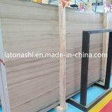 De houten Witte Marmeren Tegel van de Steen voor Vloer en Muur