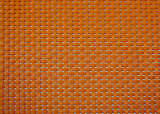 Genaaide Gemengde Kleur 4X4 pvc Geweven Placemat voor Huis & Restaurant