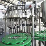 Embotelladora carbónica automática modificada para requisitos particulares del agua de soda/máquina de rellenar de la bebida