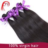 Волос Weave девственницы дешево бразильские, можно покрасить любому цвету прямая, котор волна принимает человеческие волосы Paypal