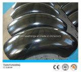 大きい半径90degree A234wp22cl1の炭素鋼の継ぎ目が無い肘