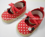 Крытые мягкие ботинки младенца 07