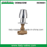 Heißes verkaufengeschmiedetes Messingendunterseiten-Ventil (AV4070)