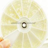 Пригвоздите колесо вспомогательного оборудования украшения перл искусствоа Плоское-Назад (D53)