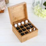 Caixa de madeira personalizada alta qualidade do presente do preço do competidor para o vinho