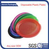 Plaat van het Voedsel van Customieze de Beschikbare Plastic