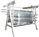 """ a "" Type Chicken Feather Peeling Machine (Refined Plucking)"