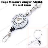 普及した釣ツールの巻尺のZingerのはえの巻き枠40 Cm
