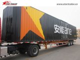 베스트셀러 3axles Box Trailer 밴 Semi Trailer