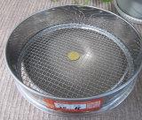Vibrador de laboratorio de acero inoxidable Medidor de tamiz de prueba estándar