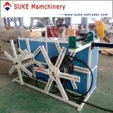 Пластичное штранге-прессовани трубы из волнистого листового металла PE/PVC делая машину