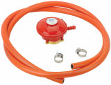 Hose (C10G59U37)를 가진 LPG Low Pressure Gas Regulator