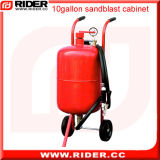 Machine industrielle portative de sablage de 10 gallons
