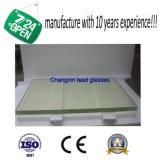 납을 첨가하는 유리 접시를 보호하는 엑스레이