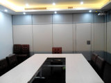 Paredes de partición de desplazamiento insonoras para la oficina, la sala de reunión, la sala de conferencias y el sitio del entrenamiento