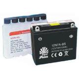Bateria de motocicleta Mf com certificado CE UL certificado 12n7a-BS
