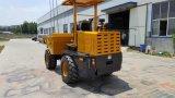 4X4 3000kg 3tのサイトのダンプトラック