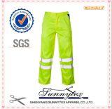 OEMの安い卸し売りカスタムこんにちは気力の安全な保護反射貨物ズボン