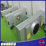 クリーンルームの暖房、クリーンルーム換気し、冷暖房システム